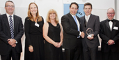 Macquarie University & others receiving the B-Hert award