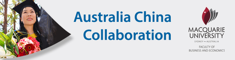 Australia China Collaboration banner