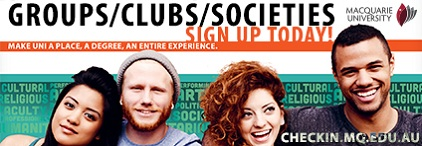 Macquarie groups/clubs/societies