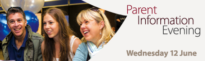 Parent Information Evening, Wednesday 12 June 2013, Macquarie University