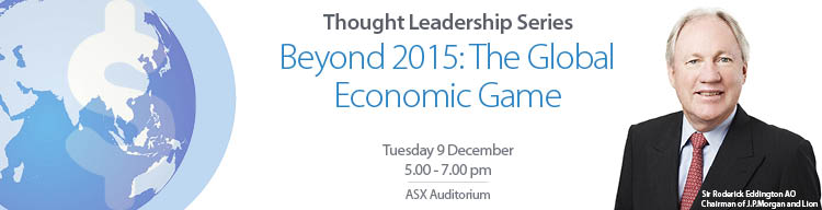 Beyond 2015 The Global Economic Game