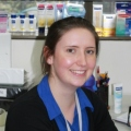 Student Laura Duck intern at beiersdorf